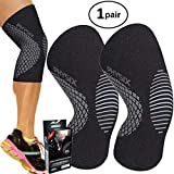 PHYSIX GEAR SPORT Knee Support Brace - Premium Recovery & Compression Sleeve For Meniscus Tear, ACL,...