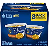 Kraft Deluxe Easy Mac Microwavable Macaroni and Cheese Cups, 8 Count Box, 8 -2.39 oz cups