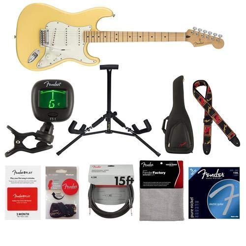 Cheap Fender Player Stratocaster Electric Guitar 22 Frets Modern