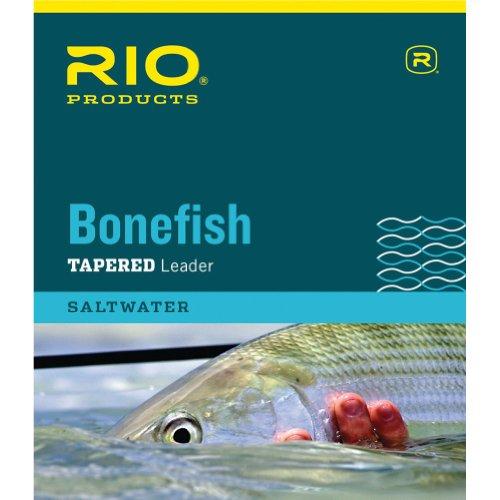 RIO Products Leaders Bonefish Leader 3,5 m, 4,5 kg, transparente