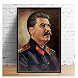 Suuyar Stalin Portrait Kunst Malerei Leinwand The Great