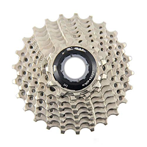 Lijincheng Ruedas Libres Cassette De Bicicleta 9 Velocidad Freewheel Steel MTB Bicicleta De Montaña 11-25T Piezas De Bicicleta Flywheel para El Sistema Shimano (Color : 9S 11 to 25T)