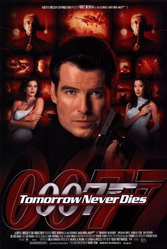 Pop Culture Graphics Tomorrow Never Dies Poster Movie 11x17 Pierce Brosnan Jonathan Pryce Michelle Yeoh Teri Hatcher