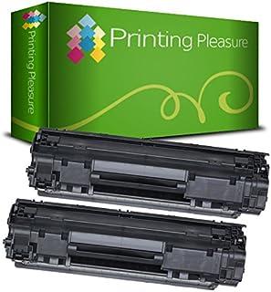 Printing Pleasure 2 Compatibles CF279A 79A XL Cartuchos de tóner para HP Laserjet Pro MFP M26nw M26a   M12 M12a M12w - Negro, Alta Capacidad (2500 Páginas)