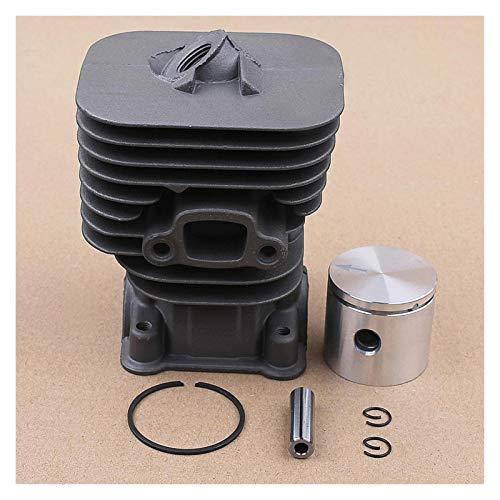Accesorios Para Cortacéspedes 35 mm Cilindro anillos de pistón Punta Kit Compatible con Husqvarna 124L 125R 128R Segadora recortadora de hilo Bursh cortador de piezas de repuesto Accesorios para herra