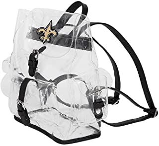 New Orleans Saints NFL Lucia Clear Backpack