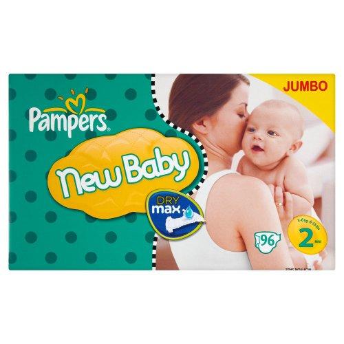 Pampers New Baby Talla 2(3–6kg)–economía unidades x 96Pañales