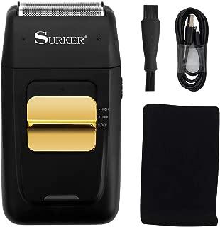 Surker Foil Shaver Electric Shaver for Men Bald Head Shaver Barber Razor Trimmer Shaving Machine...