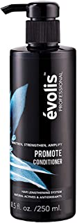 évolis PROMOTE Conditioner - Hair Strengthening Conditioner - Keratin Conditioner - Hair Conditioner Sulfate Free - Hair C...
