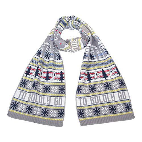 STAR TREK: The Original Series Weihnachtsschal – Offizielle Merchandise Ware für Fans von LOVARZI