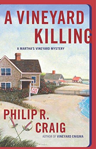 A Vineyard Killing: Martha's Vineyard Mystery #14 (Martha's Vineyard Mysteries)