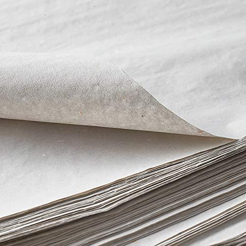 BB-Verpackungen Packseide, 5 kg, 50 x 75cm grau, Seidenpapier Polsterpapier Geschirrpapier Papckpapier - 5