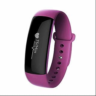 Relojes Fitness Bluetooth Salud y cuidado personal Pulsera Deportiva monitor de sueño/Pulsómetros/medición de la presión arterial/Disparo remoto/dos forma anti-perdida funcion/Impermeable IP67