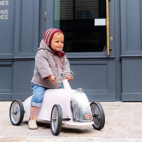 Baghera Voiture Porteur Multidirectionnel Rose XL, Trotteur bébé pour Garçon et Fille, Jouet pour...