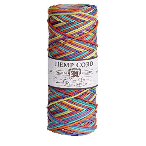 Hemptique - Bobina de Hilo de cáñamo de Fuerza Media (50 Gramos, 62,