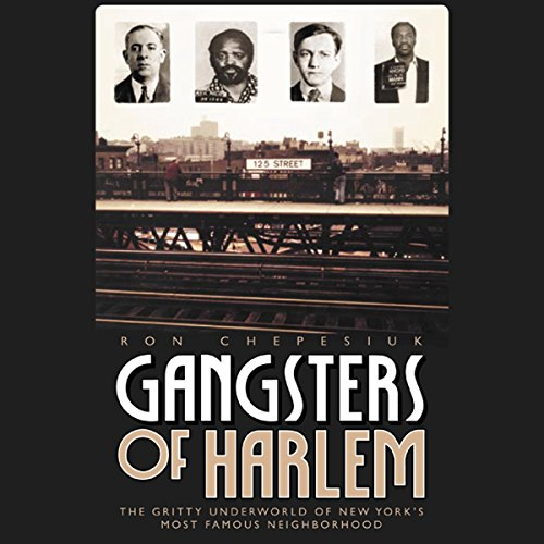 Gangsters of Harlem audiobook cover art
