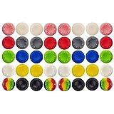 40 Pcs Colorful Silicone Accessories...
