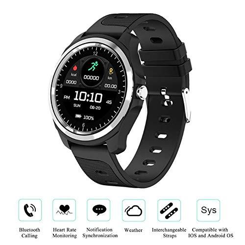 Smart Watch KW05 Muziek Controle Weer Voice Assistant Activiteit Stappenteller Sport Pedometer Oproep Bloed Zuurstof Oproep Fitness Tracker