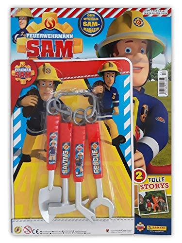 Unbekannt Feuerwehrmann Sam Magazin 12/2019 Comics Rätsel Poster und Extra Rescue-Set