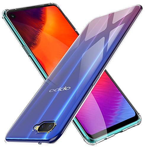 KuGi Oppo RX17 Neo Hülle, Kratzfeste Hülle Oppo RX17 Neo Schutzhülle Soft TPU Case Ultradünn Cover [Slim-Fit] [Anti-Scratch] [Shock Absorption] passt für Oppo RX17 Neo Smartphone. Klar