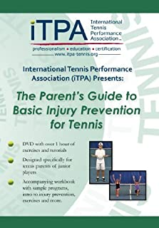 iTPA: The Parent's Guide to Basic Injury Prevention for Tennis DVD Course