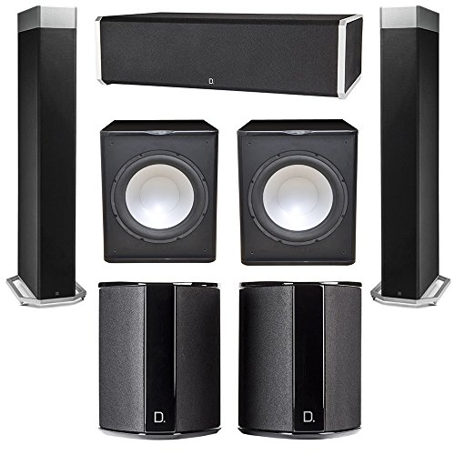 Fantastic Prices! Definitive Technology 5.2 System with 2 BP9080X Tower Speakers, 1 CS9060 Center Ch...