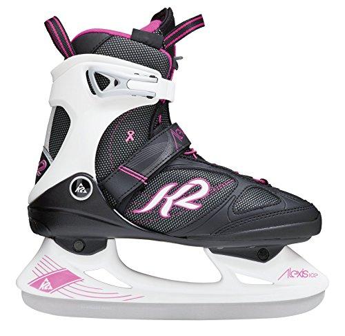 K2 Damen Schlittschuhe Alexis Ice Pro - Schwarz-Pink - EU: 36.5 (US: 6.5 - UK: 4) - 2550104.1.1.065