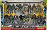 New THE CORPS TIME Crisis, THE CORPS VS. The Curse, Ultimate Collection 12 Figures with Adventure Vehicles & Accessories, Sand Rail Assault Buggy, Speed Bike EXTREMEM Pursuit Vehicle