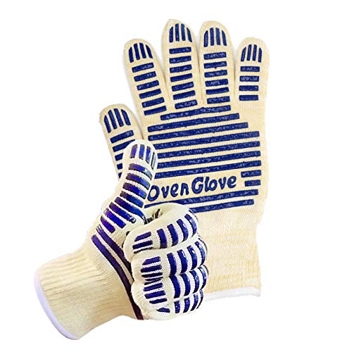 Oven Glove Heat Resistant Hot Surface Handler Oven Mitt/Grilling Glove for Kitchen/Grilling/540 Degree Resistance/ Pack of 2
