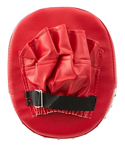 Apolyne BTK Manopla de Boxeo, Unisex Adulto, Rojo, Talla Única