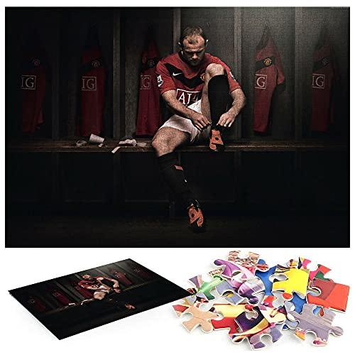 Fußball Wayne Rooney, der Beste Fußballspieler von Manchester United Puzzle 1000 Teile