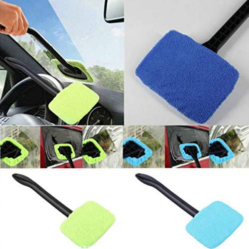 Zonfer 1pc Auto-scheibenreiniger Werkzeuge, Innen-Fenster-Glas-reinigungs-Tools Für Nebelfeuchtigkeitsentfernung (zufällige Farbe)