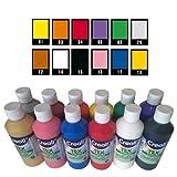 Creall havo240503000ml Sortiment Havo Textilfarbe, Set (12-teilig) -