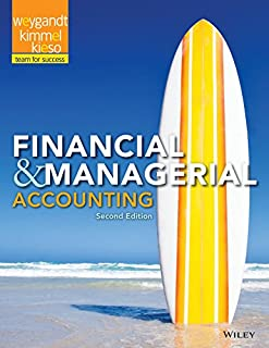 Financial and Managerial Accounting 2e + WileyPLUS Registration Card