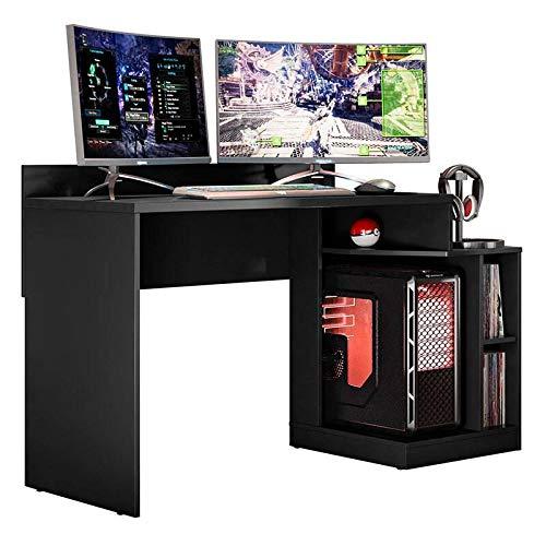 Mesa De Gamer Play-móveis Albatroz - Preto