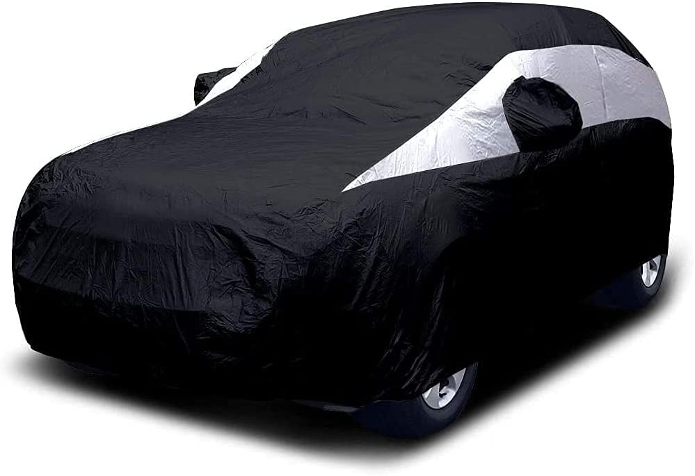 Sale special price Titan Lightweight Mid-Size store SUV Car Cover Ex Black Jet for Ford