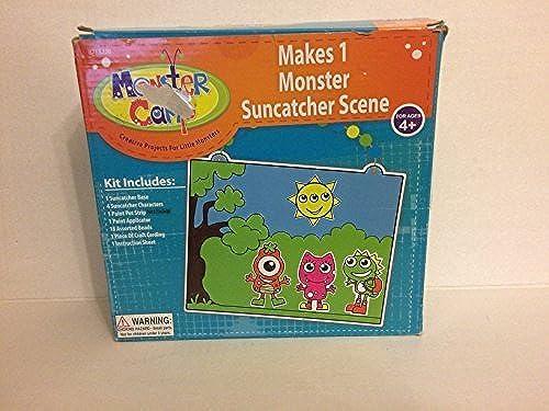 bajo precio del 40% Monster Suncatcher Suncatcher Suncatcher Scene by Toner Crafts  precios bajos todos los dias
