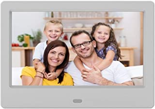 Digital Photo Frame 7 Inch IPS HD Display Screen Image Preview Video Calendar Clock Support USB and SD Card Remote Control...