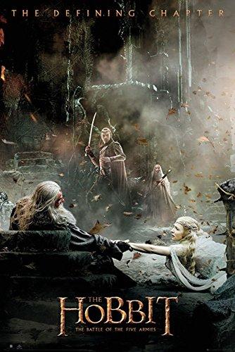 The Hobbit - BOTFA - Aftermath - Schlacht der 5 Heere Plakat Poster Druck - Größe 61x91,5 cm