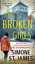 More Books By Simone St. James The Broken Girls book cover with blurred house or school in the background
