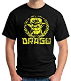 35mm - Camiseta Hombre Drago - Soviet - Rocky - Negro - Talla l