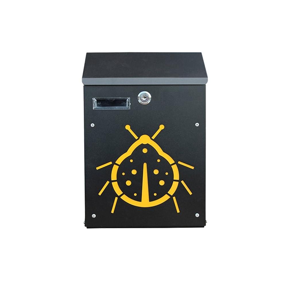 ゴシップ抽象名前多機能メールボックス 牧歌的な創造的なレターボックスの壁の装飾の提案箱