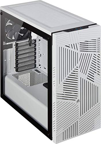 Corsair 275R Airflow Tempered Glass Mid-Tower ATX Gaming Case (Tempered...