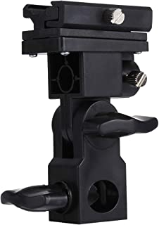 New Camera Accessories B Type Flash Light Stand Bracket(Black) Used for Camera