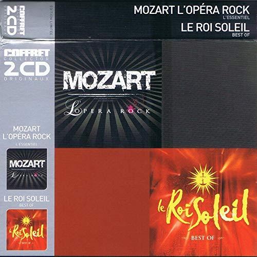 Le Roi Soleil / Mozart L\'Opéra Rock (Coffret 2 CD)