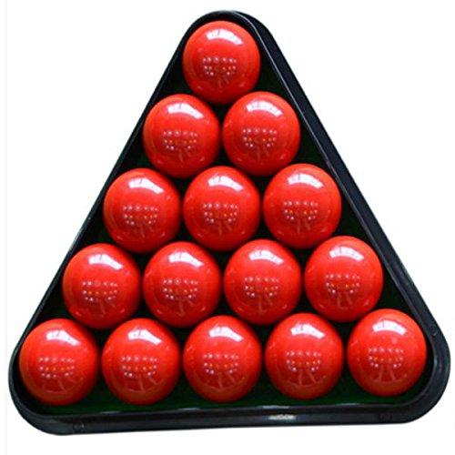 Bazaar 8 Ball Pool Billardtisch Rack Triangle Rack Kunststoff Billard Stativ Standard Größe