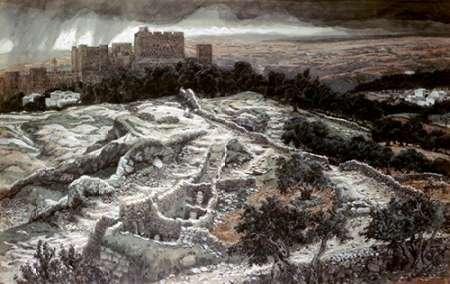 James Tissot – Restoration of Calvary from The Gate of Judgement Kunstdruck (30,48 x 45,72 cm)