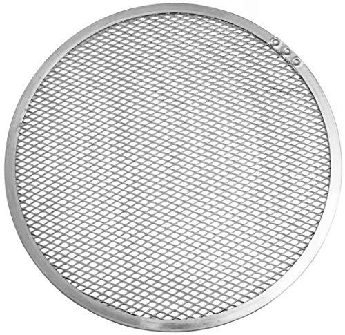 Fm Professional 21691 Vassoio per Pizza, Alluminio, Argento, Diametro 28 cm