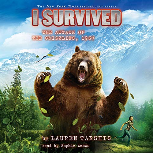 I Survived the Attack of the Grizzlies, 1967 audiobook cover art