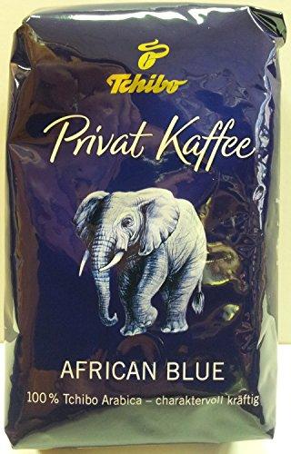 Tchibo Privat Kaffee African Blue ganze Bohne